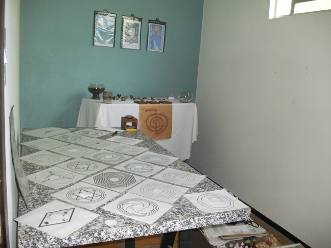 Gráficos e Altar
