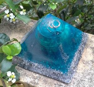 Orgonite azul